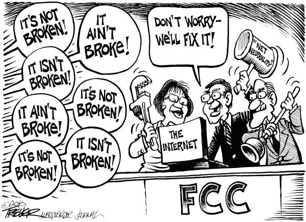 Attention FCC -- The Internet Isn't Broken!